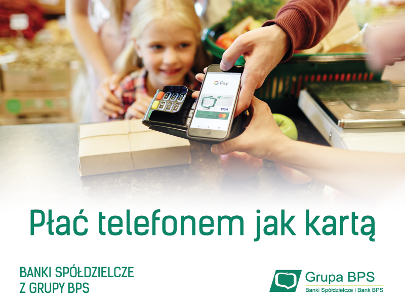 Płać telefonem - Google Pay